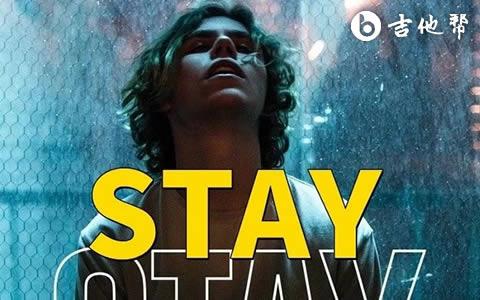 Stay吉他谱-|The Kid LAROI/Justin Bieber